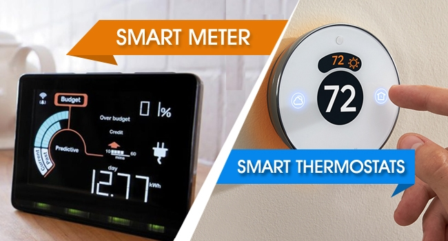 smart meter vs smart thermostats