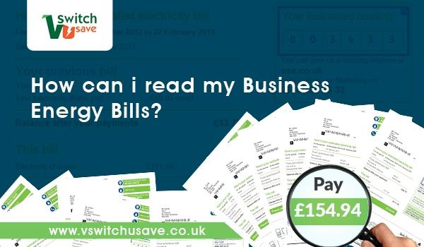 business energy bills