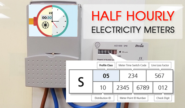 half hourly electricity meters