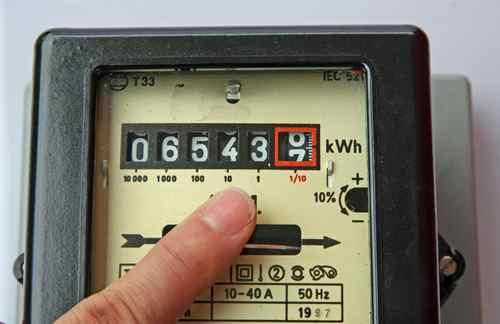 Faulty energy meters
