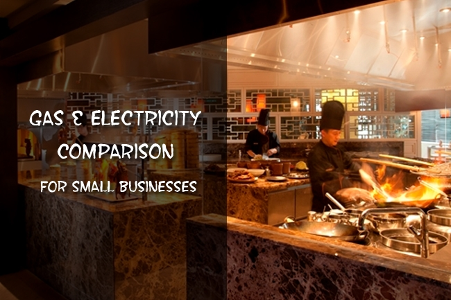 gas and electricity comparison for small businesses